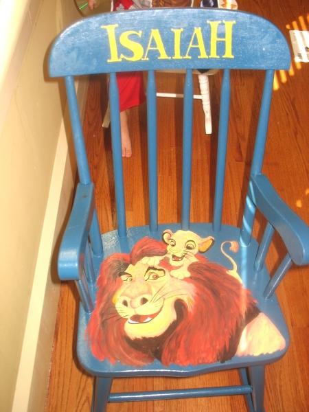 Isaiah Chair 1